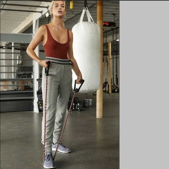 Free People Pants - Free People Movement Off Road Gray Jogger